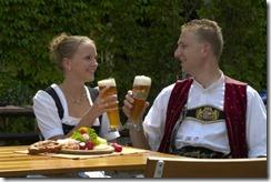 Bierfestival van de wereld tijdens het oktoberfest münchen 2011