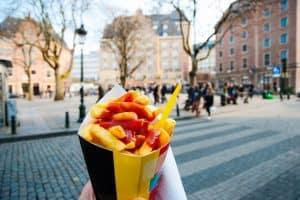 Vlaamse frieten in Brussel