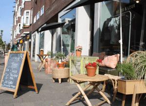 ontbijten in Amsterdam