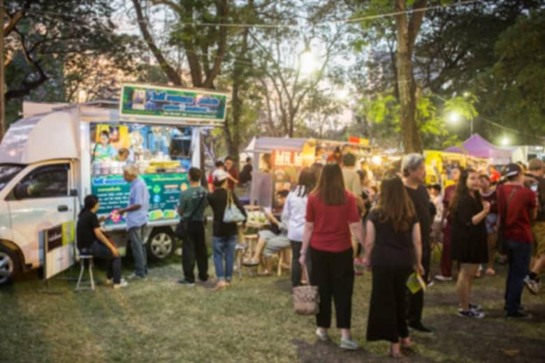 Food Truck Festivals in juni