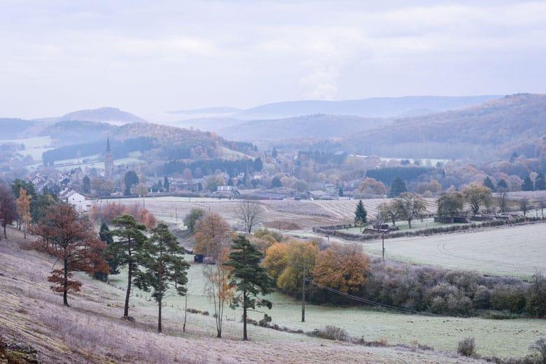 Winterse vakantie in de Ardennen