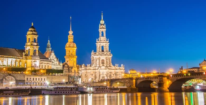 Dresden-wintersfeer