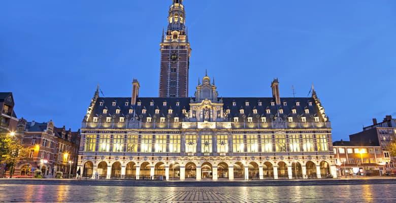 Wintertijd in Leuven